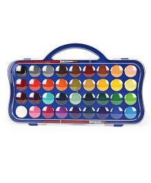Doms Water Colour Tablets 36 Shades - Multicolour