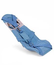 Hoopa Feeding Pillow Cum Carrier With Shoulder Strap - Blue