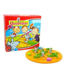 Gigamic Quoridor Kid Game - Yellow Green