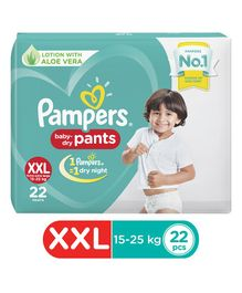 Pampers Pant Style Diapers Extra Extra Large Size - 22 Pieces