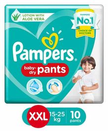 Pampers New Pant Style Diapers XXL Size - 10 Pieces