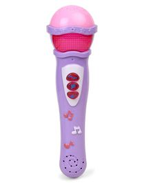 Dr. Toy Musical Microphone - Pink Purple