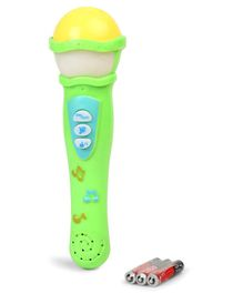 Dr. Toy Musical Microphone - Yellow Green