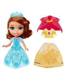Disney Sofia The First Doll With Fashion Accessories Blue - Height 15 cm