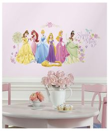 Asian Paints Disney Princess Wall Sticker - Multi Color