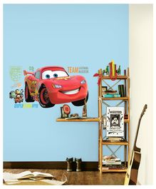 Asian Paints Disney Car Wall Sticker - Red