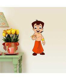 Asian Paints Chhota Bheem Wall Sticker - Multi Color