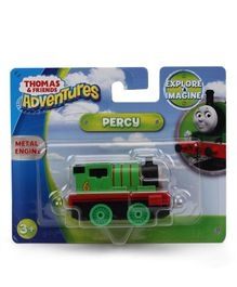 Thomas & Friends Adventures Small Metal Engine Percy Toy - Green