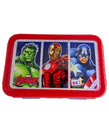 Funcart  Marvel Avengers Lunch Box - Red