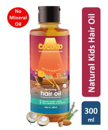 Cocomo Natural Mineral Oil Free, Coconut, Kids Hair Oil - 300ml