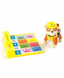 Paw Patrol Back Flip Pup Rubble Toy - Yellow