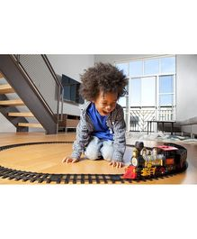 Webby Battery Operated Choochoo Classical Train Track Set - Multicolour