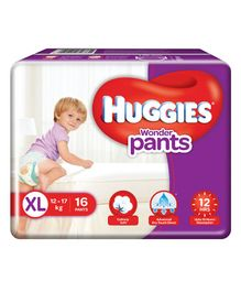 Huggies Wonder Pants Extra Large Diapers - 16 Pieces