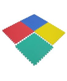 Yoto Interlocking Play Mat Set Of 4 Tiles - Multicolour
