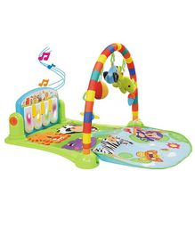 Playhood Musical Baby Gym With Piano - Multicolour