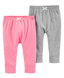 Carter's 2-Pack Bubble Pants - Multi Colour
