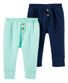 Carter's 2-Pack Baby Pants - Blue Green