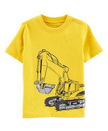 Carter's Construction Jersey Tee - Yellow