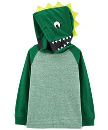 Carter's Dinosaur Hooded Tee - Green