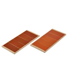 Eduedge Wooden Touch Board 2 Pack of 2 - Brown