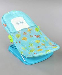Babyhug Bubble Joy Bather Aquatic Print - Blue