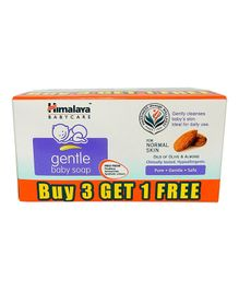 Himalaya Gentle Baby Soap Pack of 4 - 75 grams Each