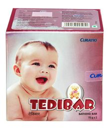 Curatio Tedibar Bathing Soap Bars Pack of 2 - 75 gm each