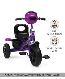 Babyhug Paramount Tricycle - Purple