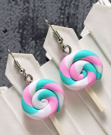 Babyhug Candy Shape Earrings - Blue Pink
