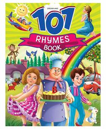 101 Rhymes Book Multi Colour - 64 Pages