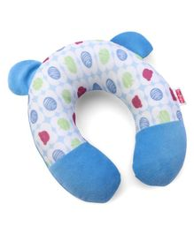 Babyhug Neck Support Pillow Fruity Bear Print - Multicolor