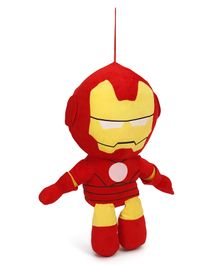 Avengers Iron Man Plush Soft Toy With Hanging Thread - Red & Yellow