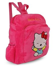 Hello Kitty Plush School Bag Pink - Height 14 inches