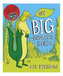 My Big Brother Boris By Liz Pichon - English