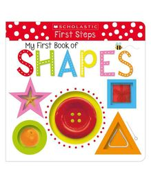 My First Book of Shapes Early Learning Book - English