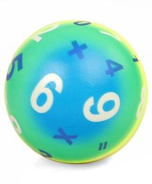 B Vishal Numeric Soft Ball - Blue Green