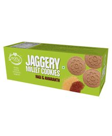 Early Foods Organic Ragi & Amaranth Jaggery Cookies - 150 grams