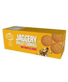 Early Foods Organic Dry Fruits & Seeds Jaggery Cookies  - 150 grams