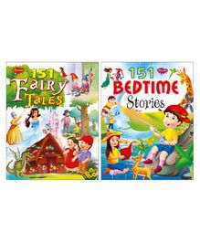 151 Fairy Tales & Bed Time Story Books Set of 2 - English