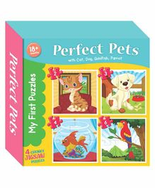Art Factory Pets Puzzle Book - English