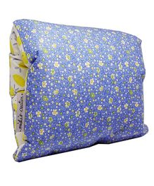 BOBTAIL by Misha's Creation Nursing Arm Pillow Floral - Blue
