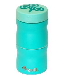 ZoLi Pow This & That Stainless Steel Insulated Food Jar - Sea Green