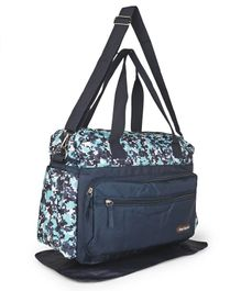 Diaper Bag With Changing Mat - Navy Blue