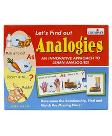 Creative Let's Find Out  Analogies - Multicolor