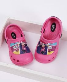 Cute Walk by Babyhug Clogs Minnie Mouse Design - Pink