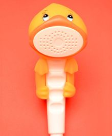 Tipy Tipy Tap Duck Design Shower Head - Yellow