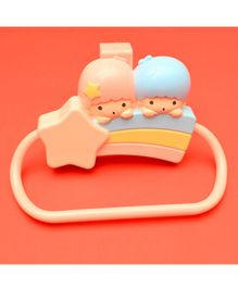 Tipy Tipy Tap Girl & Boy Towel Holder - Multicolour