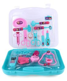 Dora Kids Doctor Set - Pink & Blue