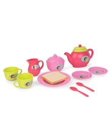 Dora Tea Set Pink - 11 Pieces