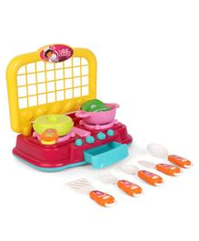 Dora Kitchen Pack of 16 - Pink & Yellow